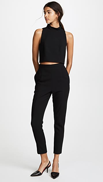 Black Halo Juma Jumpsuit - Black