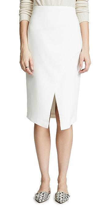 Black Halo Juma Skirt - Porcelain
