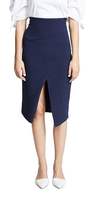 Black Halo Juma Skirt - Pacific Blue