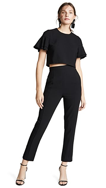 Black Halo Syon 2 Piece Jumpsuit