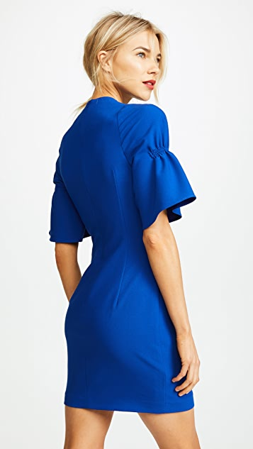 Black Halo Elena Mini Dress
