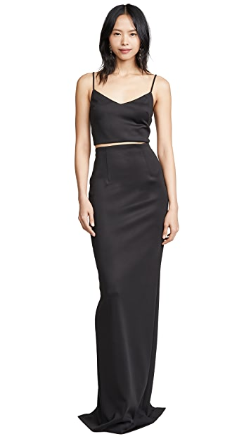 Black Halo Honore 2 Piece Gown