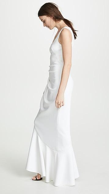 Black Halo Jewel Gown