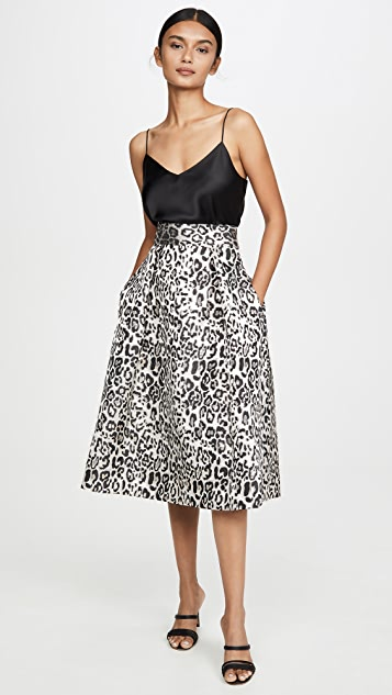 Black Halo Sanibel Cocktail Skirt
