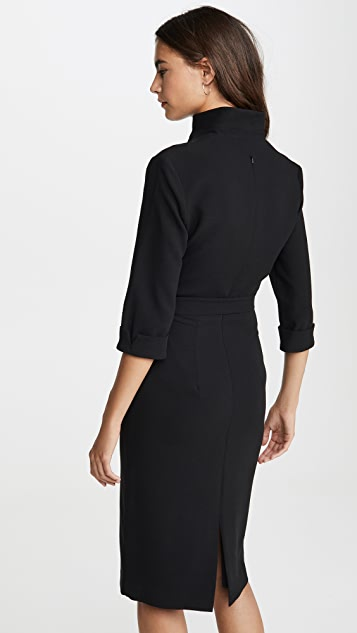 Black Halo Madeline 直筒连衣裙