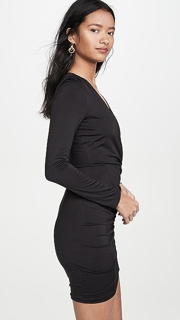 黑色光圈 迷彩连衣裙