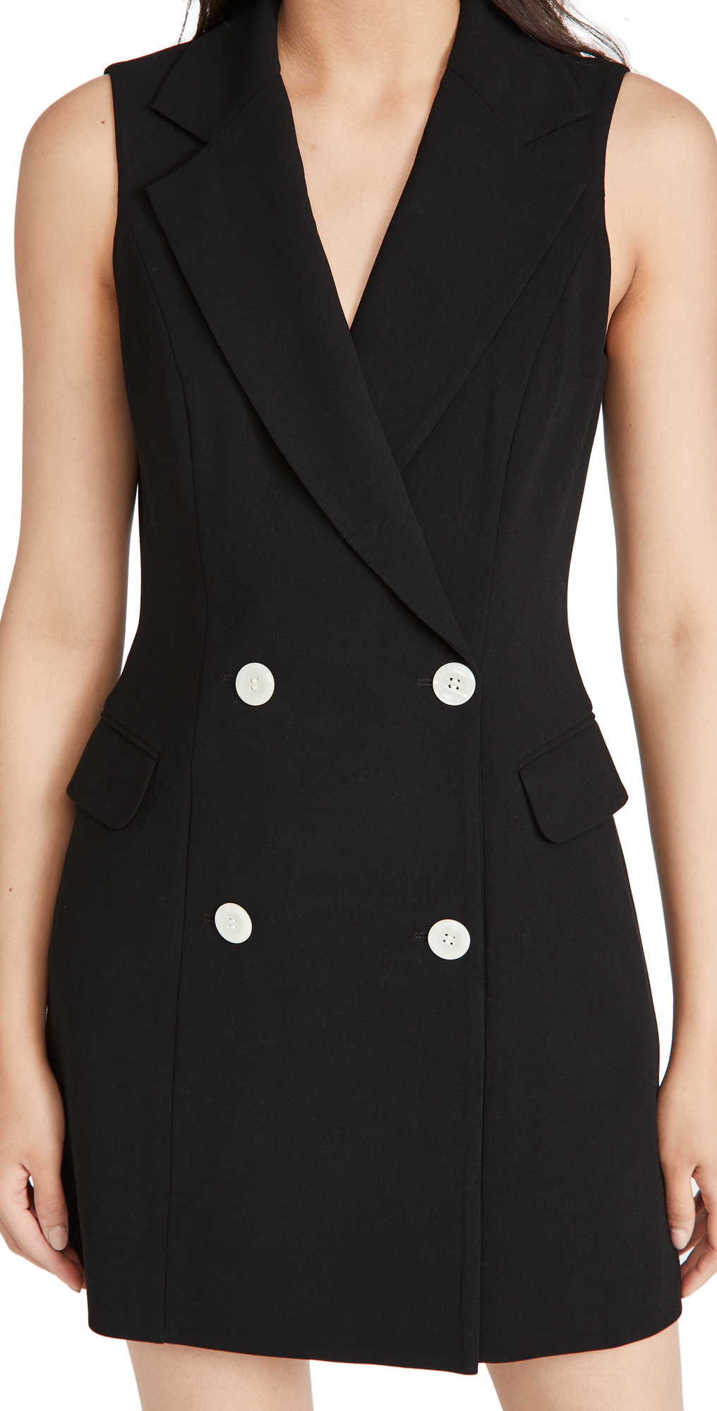 Black Halo Rio Blazer Mini Dress