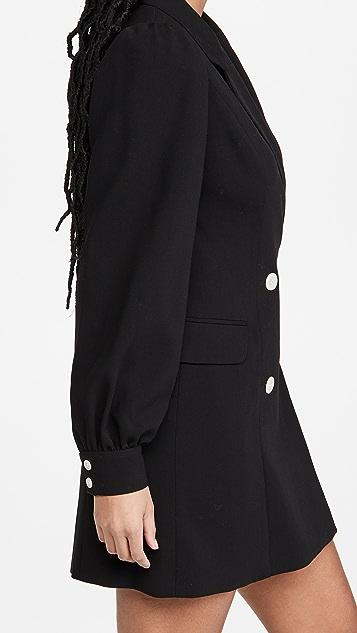 Black Halo Olympia 西装外套迷你连衣裙