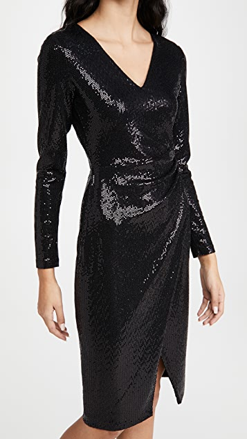 Black Halo Miramar Sheath Dress