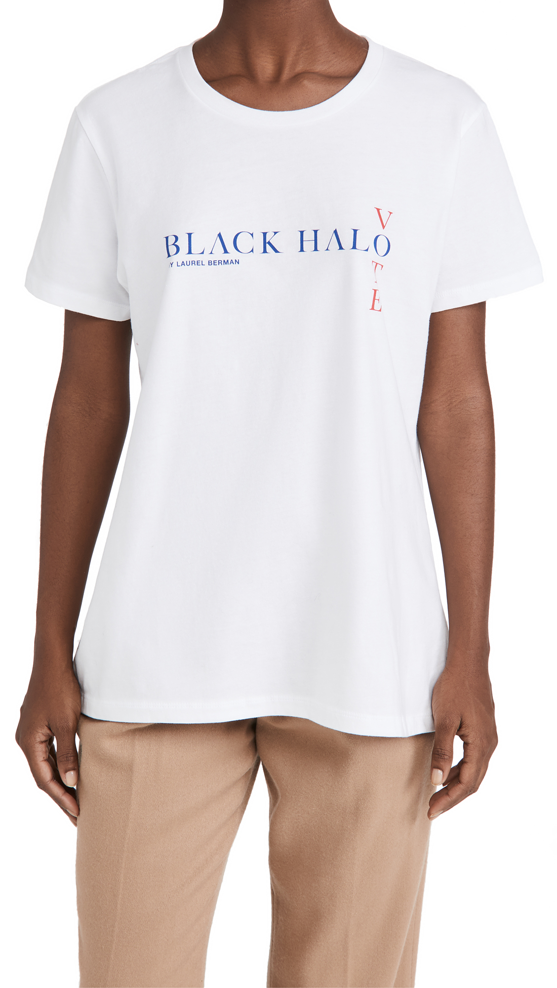 Black Halo Vote Tee