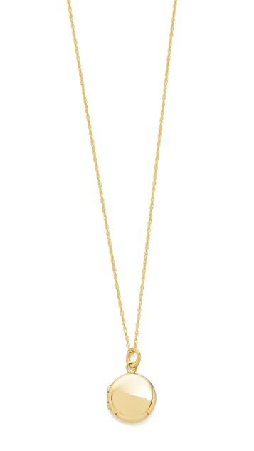Blanca monros gomez 14k gold keepsake locket necklace shopbop blanca monros gomez 14k gold keepsake locket necklace mozeypictures Image collections