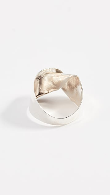 blanca monros gomez Big Fold Ring