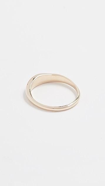 blanca monros gomez 14k Gold Carina Band Ring