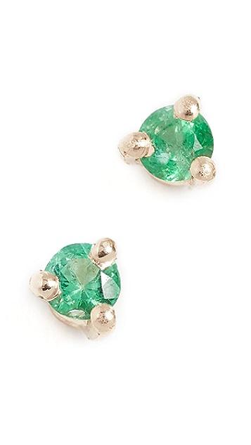 blanca monros gomez 14k Gold Tiny Stud Earrings