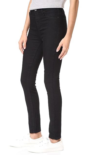 Blank Denim Hi Rise Skinny Jeans