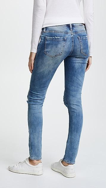 Blank Denim Состаренные джинсы-скинни