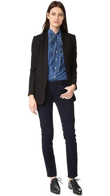 Blank Denim Corduroy Boyfriend Jeans