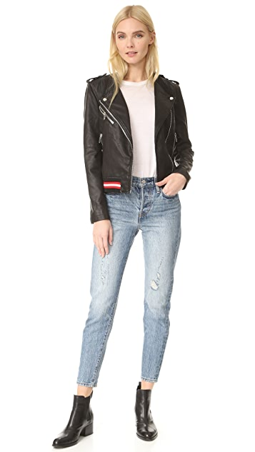 Blank Denim Frisky Business Moto Jacket