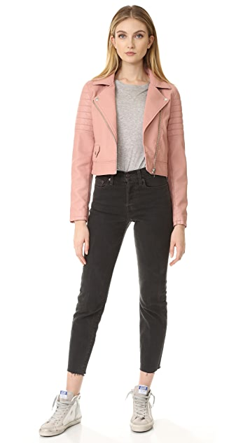 Blank Denim Pretty in Pink Moto Jacket