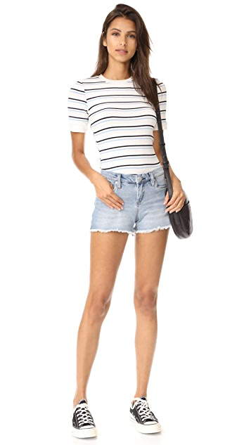 Blank Denim Play It Up Cut Off Shorts