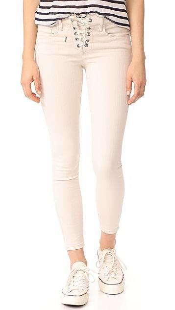 Blank Denim Patch Job Jeans