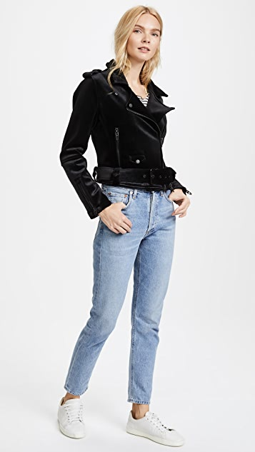 Blank Denim Dark Side Moto Jacket