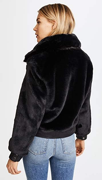 Blank Denim Black Noise Coat