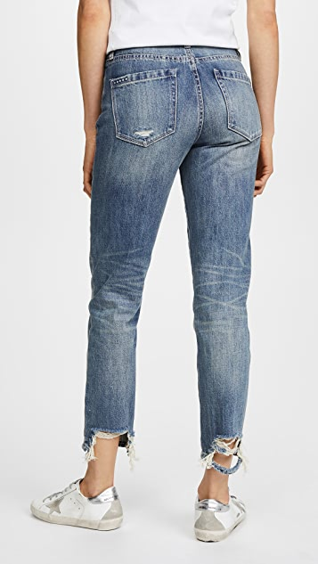 Blank Denim The Outsider High Rise Tapered Jeans