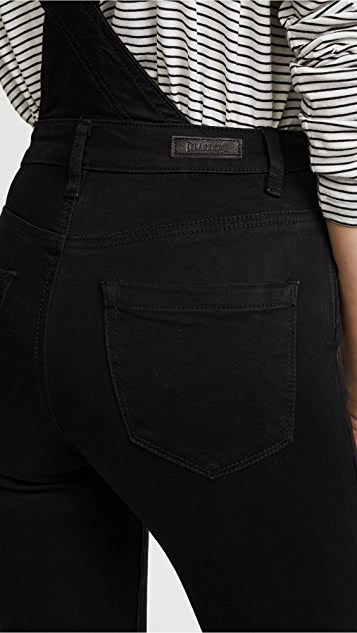 Blank Denim Slim Fit Overalls