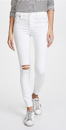 Blank Denim - Mid Rise Skinny Ankle Jeans