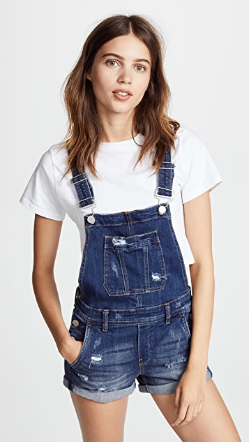 Blank Denim Shortalls - Alter Ego