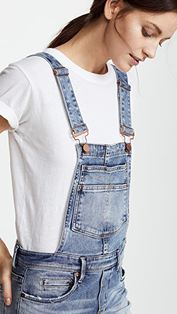 Blank Denim Get It Together Overalls