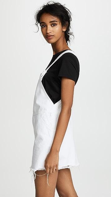 Blank Denim Мини-платье Overall