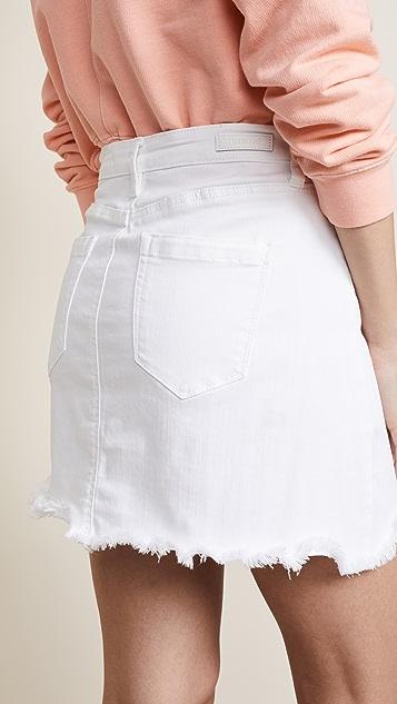 Blank Denim Мини-юбка из денима