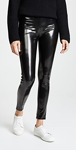 Blank Denim - 乙烯树脂套穿贴腿裤