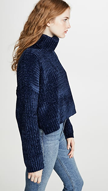 Blank Denim Chenille Sweater