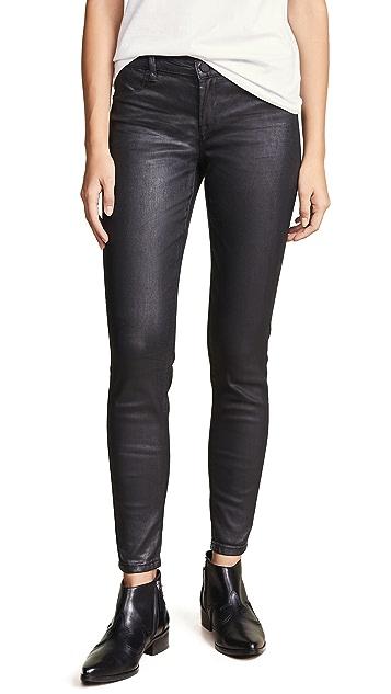 Blank Denim The Mercer Super Skinny Coated Jeans