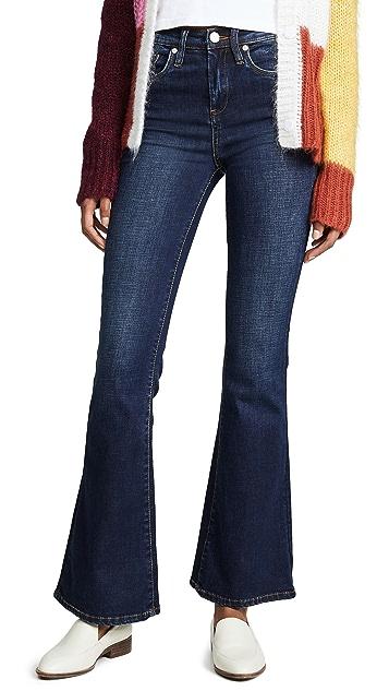 Blank Denim Расклешенные джинсы Waverly с высокой посадкой