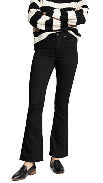 Blank Denim The Waverly High Rise Flare Jeans