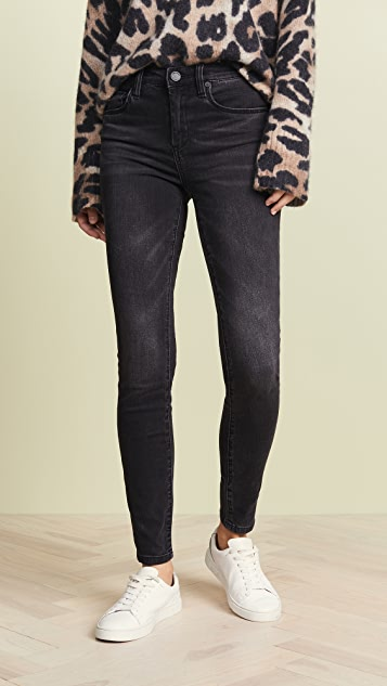 Blank Denim The Bond Mid Rise Skinny Jeans