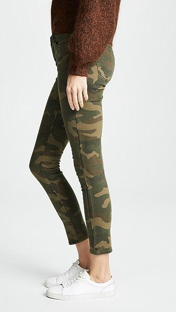 Blank Denim Camo Skinny Jeans