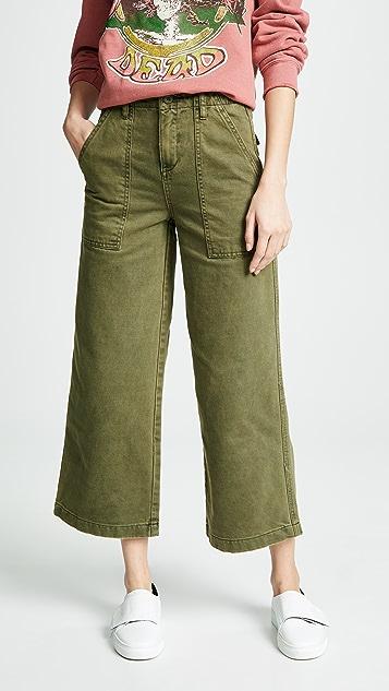 Blank Denim Практичные широкие брюки