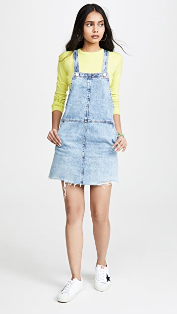 Blank Denim Blow the Bag Overall Dress