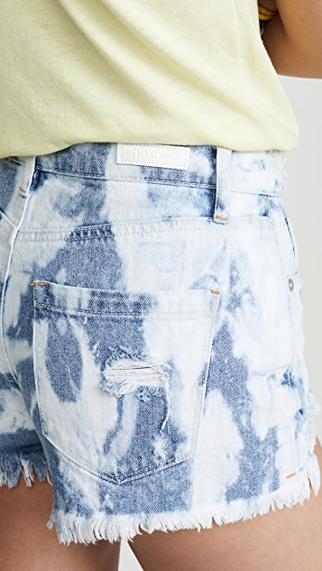 Blank Denim Spin Art Shorts