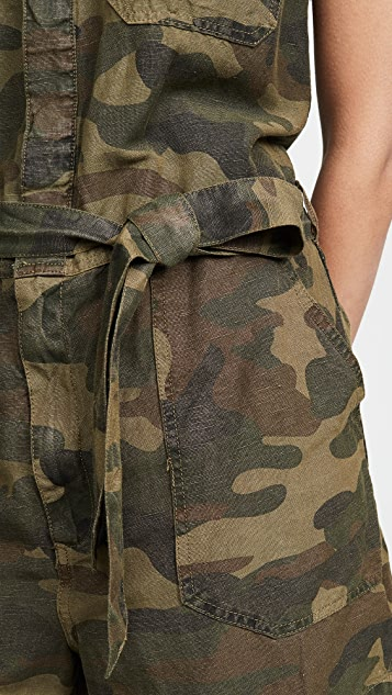 Blank Denim 5 Star Camo Romper