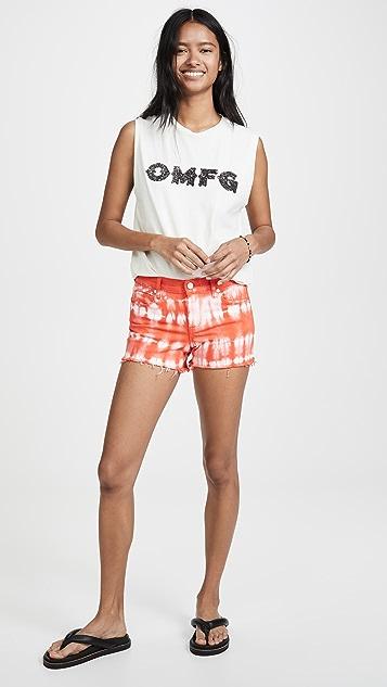 Blank Denim Sour Cherry Shorts