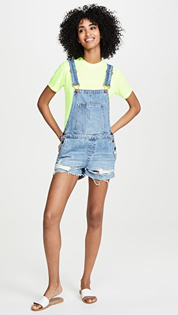 Blank Denim Double Agent Overalls