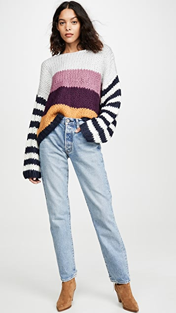 Blank Denim On Point Sweater