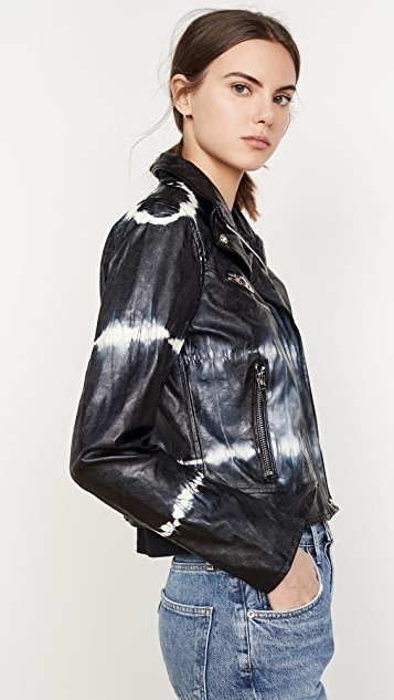 Blank Denim Bliss Field Moto Jacket