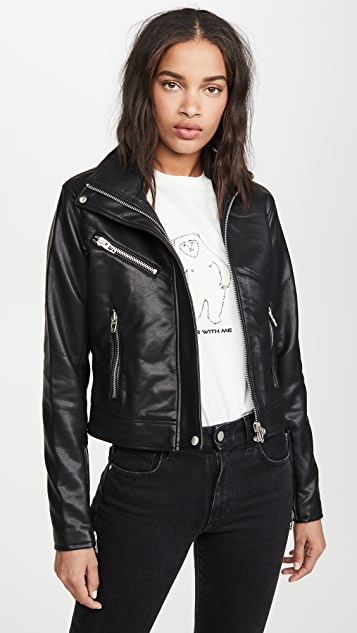 Blank Denim Essentials Moto Jacket
